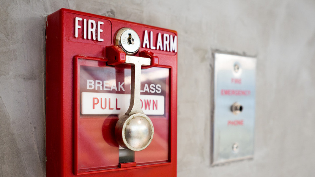 Install a fire alarm system at your property in Bay City & Grand Blanc, MI